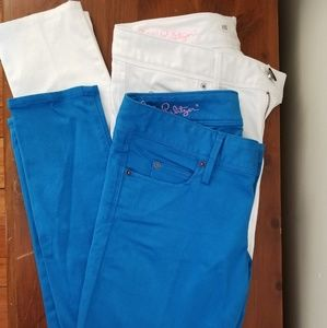 Lilly pulitzer worth skinny mini jeans pants